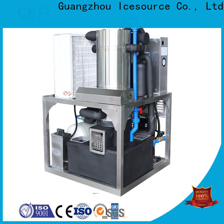 CBFI nugget ice machine producer for wine cooling