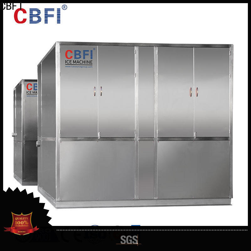 CBFI high-quality plate ice machine long-term-use for vegetable storage