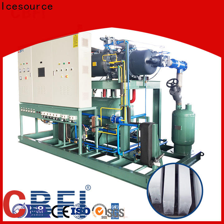 CBFI clear ice maker manufacturing for cooling