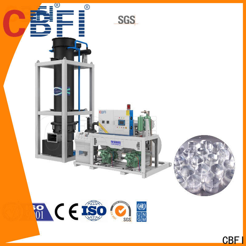 CBFI making ice tube machine for sale order now for aquatic products preservation