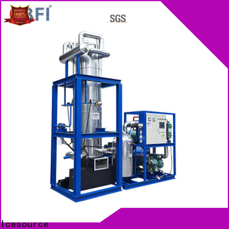CBFI high technique ice tube machine for sale at discount for cold drink