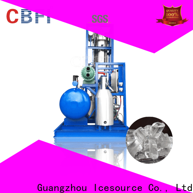 CBFI easy to use tube ice machine for sale in china for high-end wine