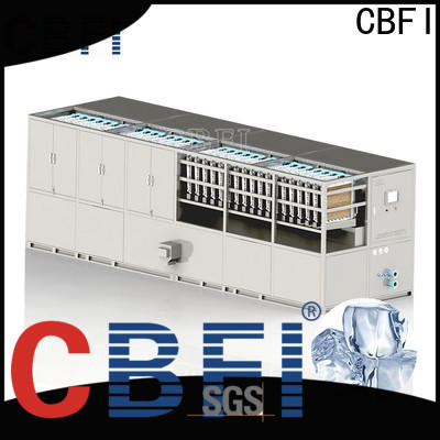 CBFI advanced technology square cube ice maker at discount in china