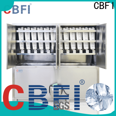 CBFI high-perfomance square cube ice maker free design bulk production