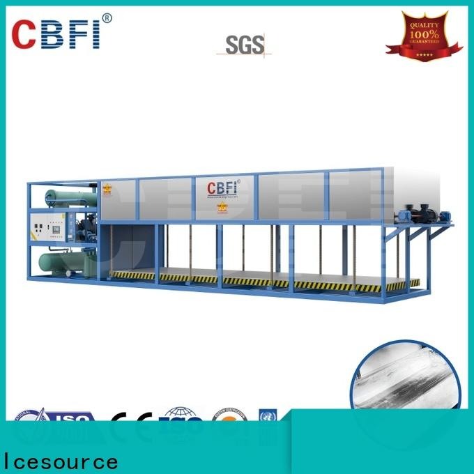 high-tech direct cooling system bulk production for ice bar