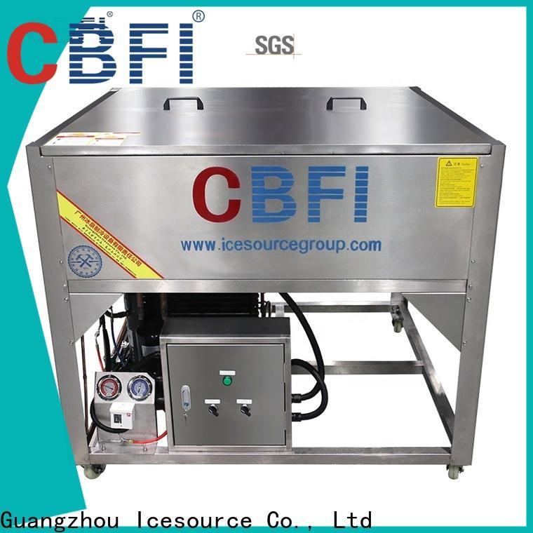 CBFI ton clear ice balls maker bulk production for whiskey