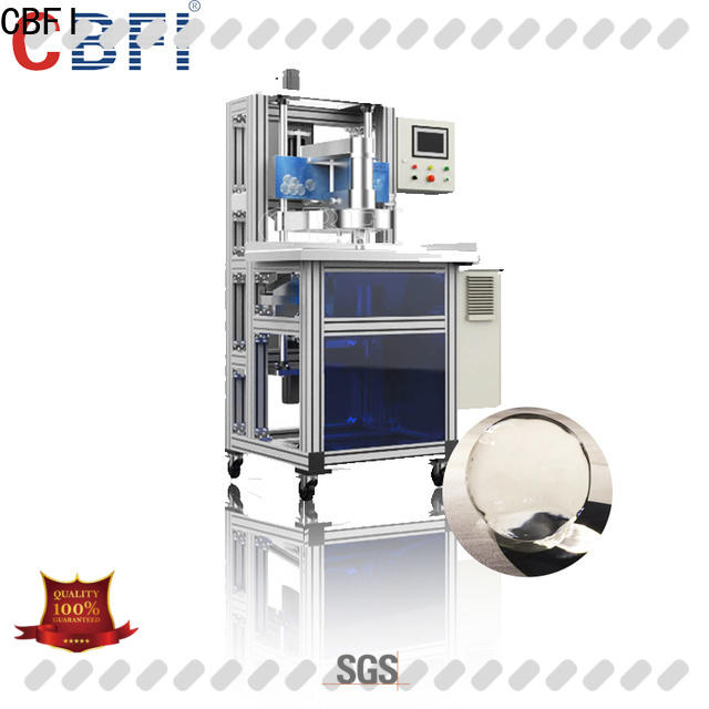 CBFI clean spherical ice ball maker from manufacturer for high-end wine