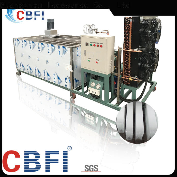 CBFI automatic ice block making machine type for freezingg