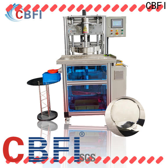 durable ice ball maker machine in china for ice sculpture