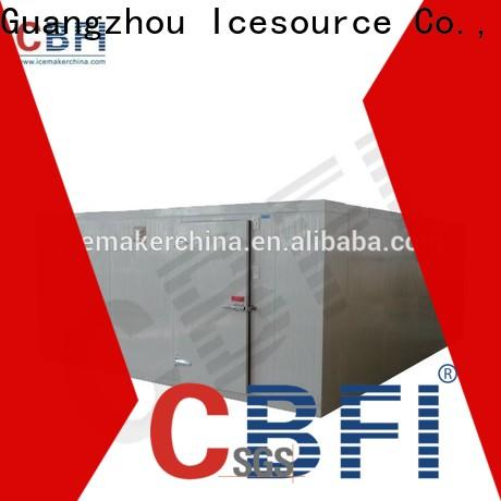 CBFI chiller rooms bulk production for freezingg