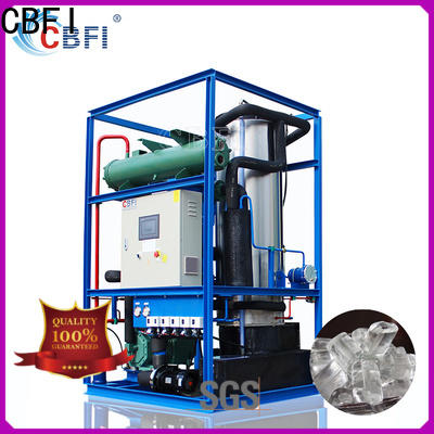 CBFI clean tube ice machine free quote for cold drink