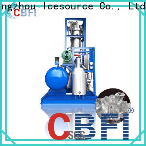 luxury ice tube maker machine bulk production for high-end wine