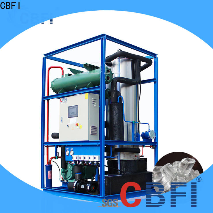 CBFI high-end ice tube maker machine free design for ice sculpture