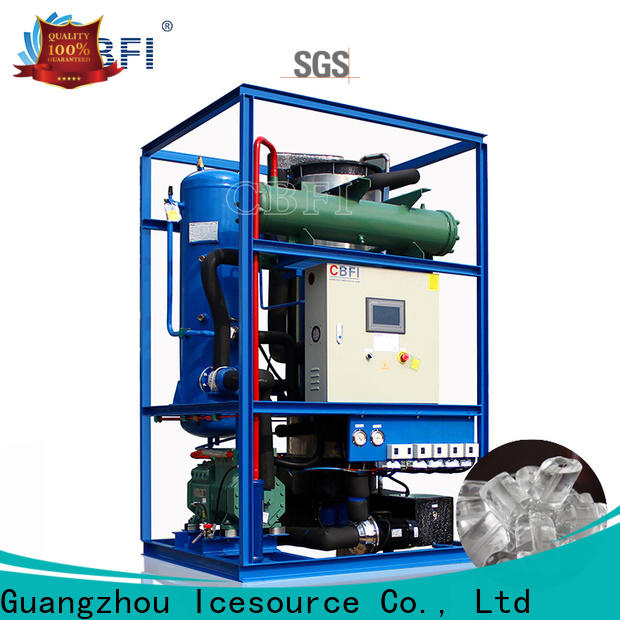 clear ice maker machine plant for ice bar