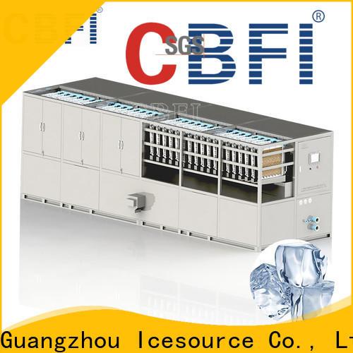 CBFI round ice cube maker plant check now