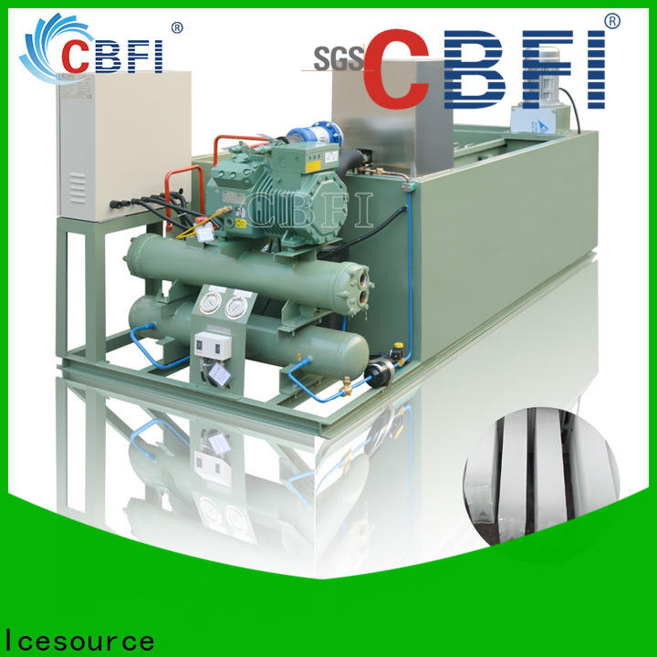 CBFI clean block ice cube maker bulk production for cold drink