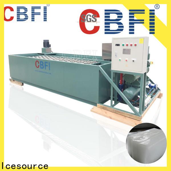 CBFI high reputation clear ice block maker bulk production for ice sculpture
