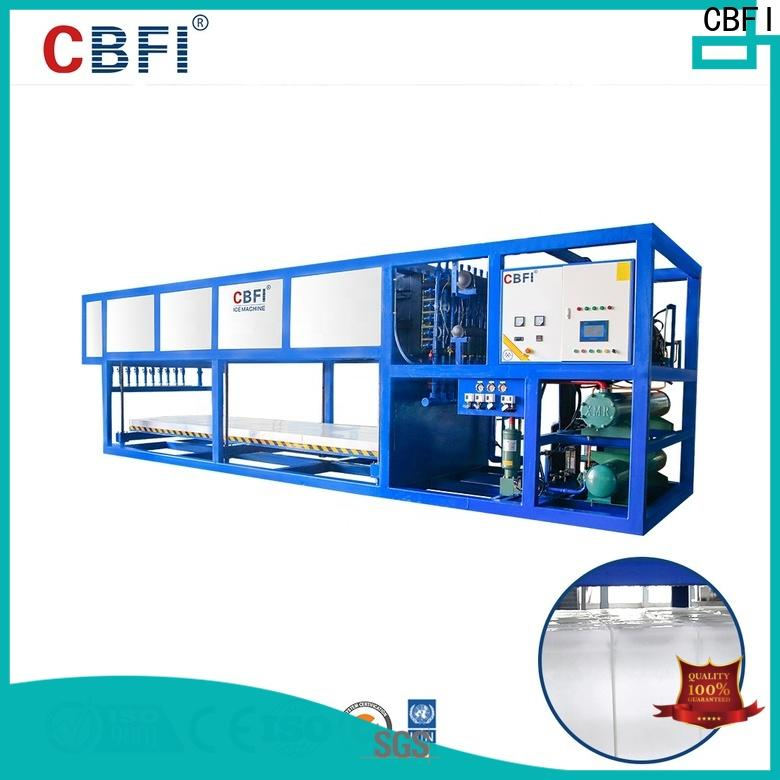 CBFI ice maker direct check now for freezingg