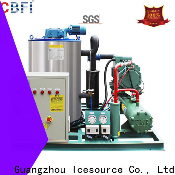CBFI flake ice machine for sale from manufacturer at discount