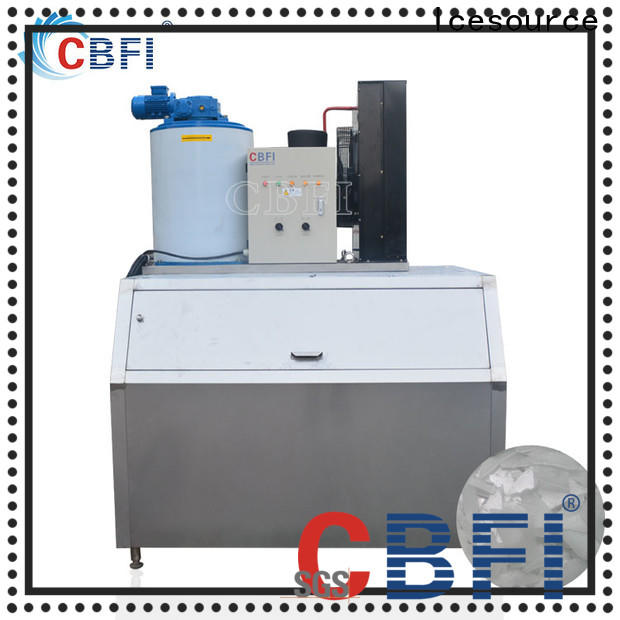 CBFI easy to use snow flake ice machine free design at discount