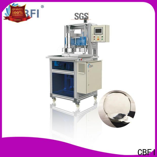 CBFI clean ball ice machine in china for ice bar