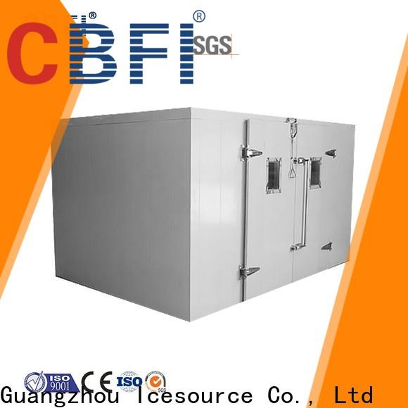 CBFI easy to use mobile cold room free design for cold drink
