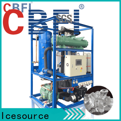 CBFI clean tube ice machine for sale from manufacturer for cold drink