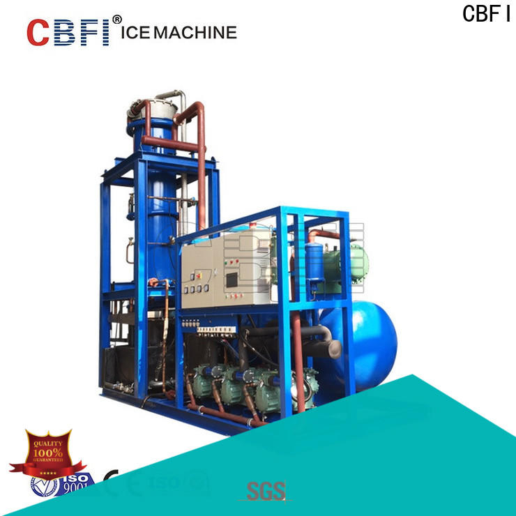 CBFI clean tube ice machine for sale type for high-end wine