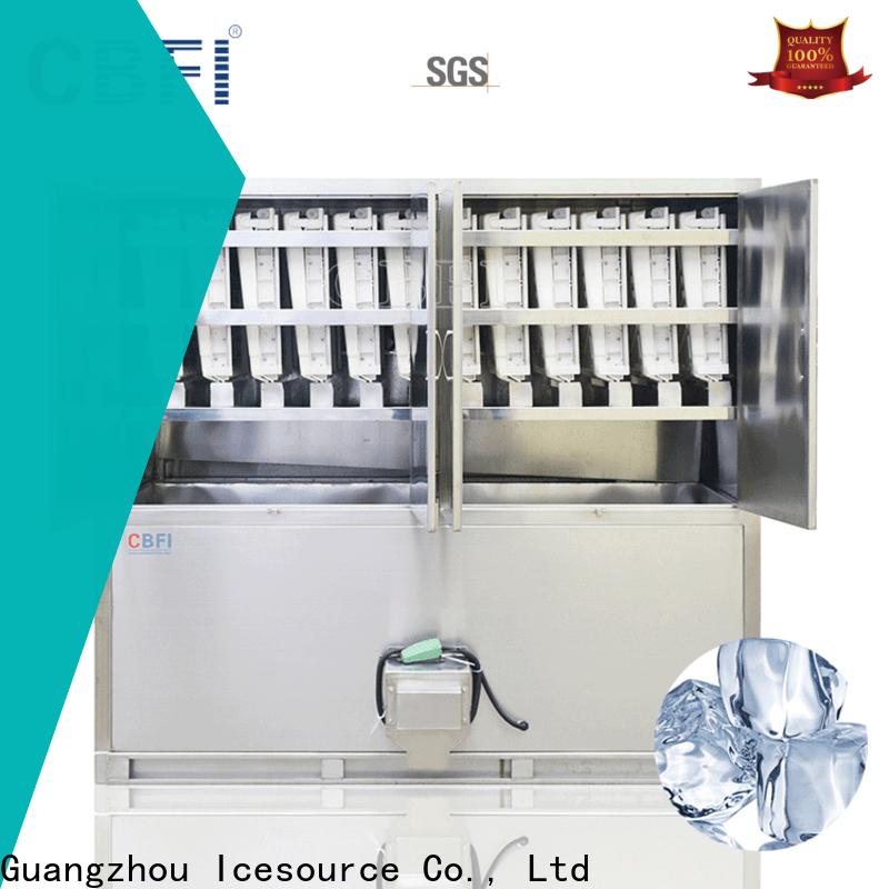 CBFI cube ice machine free design bulk production