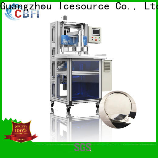 CBFI clean round ball ice maker free quote for ice bar