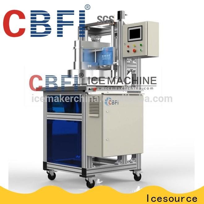 clean ice ball maker machine bulk production for cold drink
