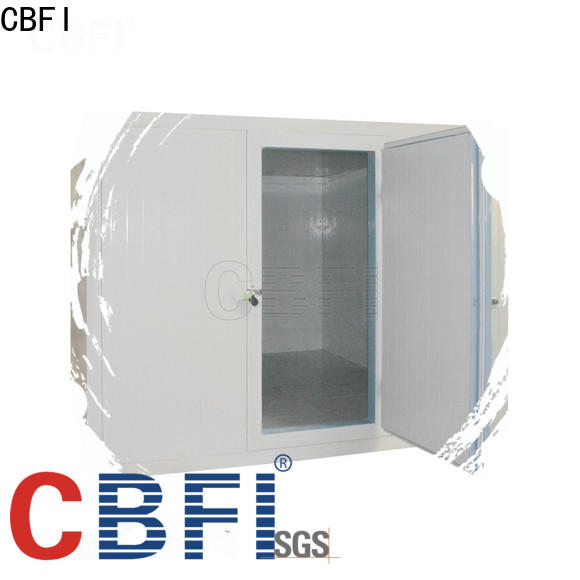 CBFI mobile cold room for sale order now for ice bar