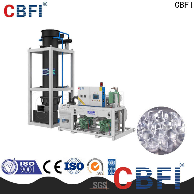 CBFI professional portable ice maker machine grab now for fish stores