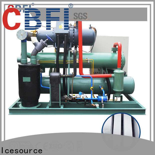 clear used ice machine plant for summer
