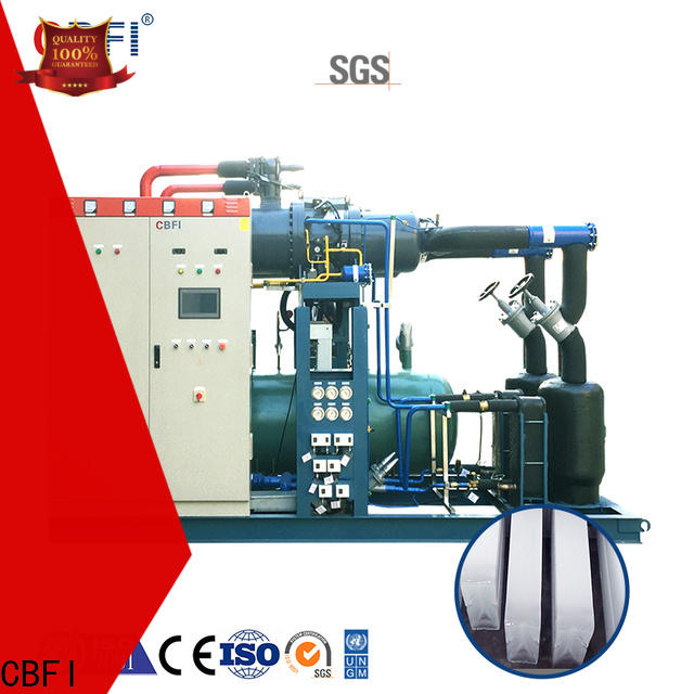 CBFI high-quality industrial ice machines for sale bulk production for summer