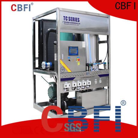 CBFI ice tube maker manufacturer for aquatic goods