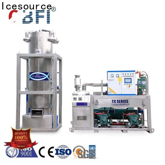 high-quality ice tube plant maker owner for cafe