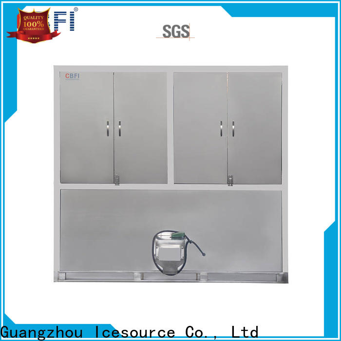 CBFI automatic industrial ice cube making machine factory for vegetable storage