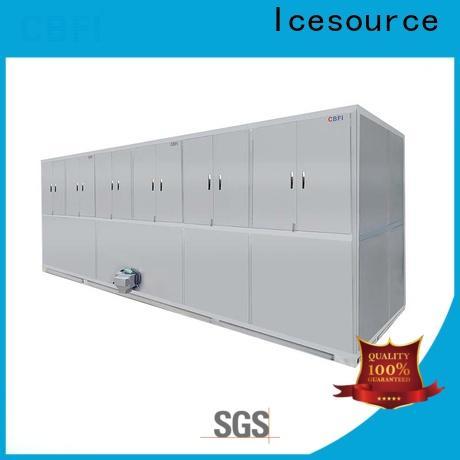 CBFI large capacity large ice cube machine factory for fruit storage
