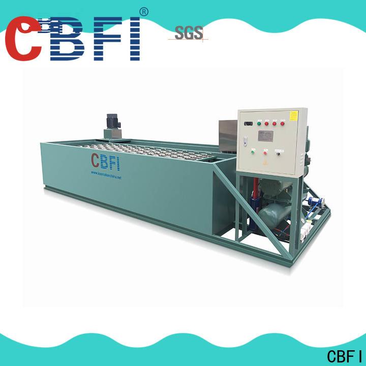 CBFI ice plant bulk production for whiskey