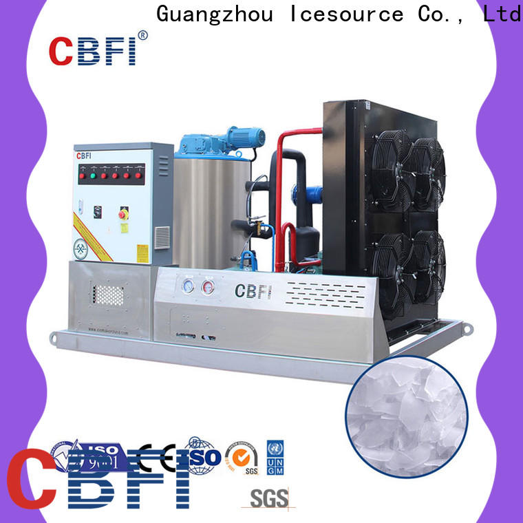 CBFI nice flake ice machine commercial order now for cooling use