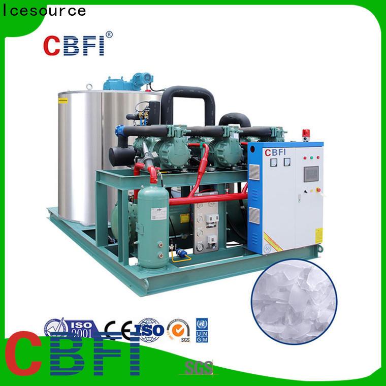 CBFI day ice flake bulk production for supermarket