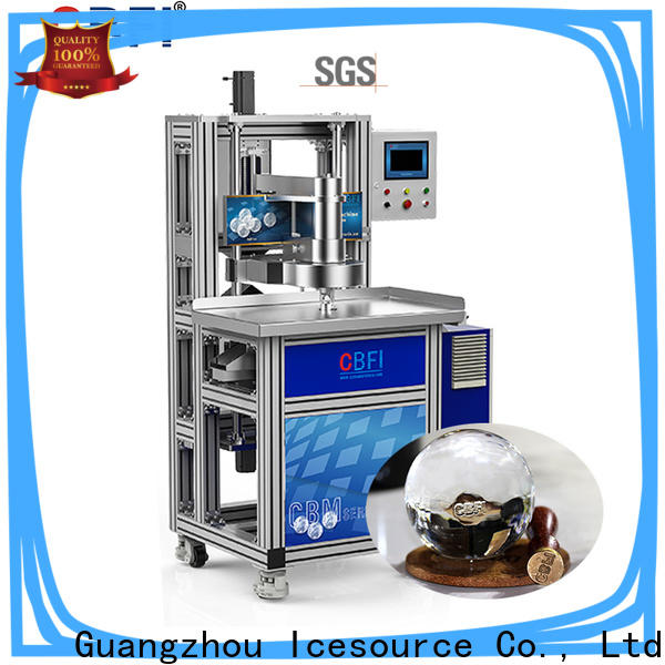 high-end plug in ice maker carving in china for brandy