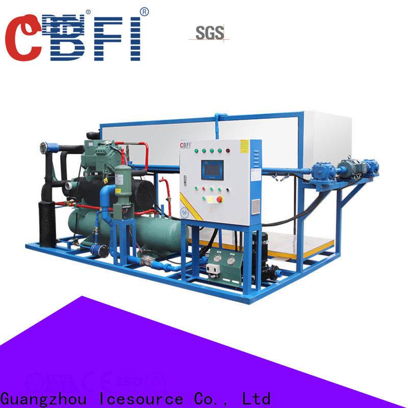 CBFI block bottled water ice maker supplier for vegetable storage