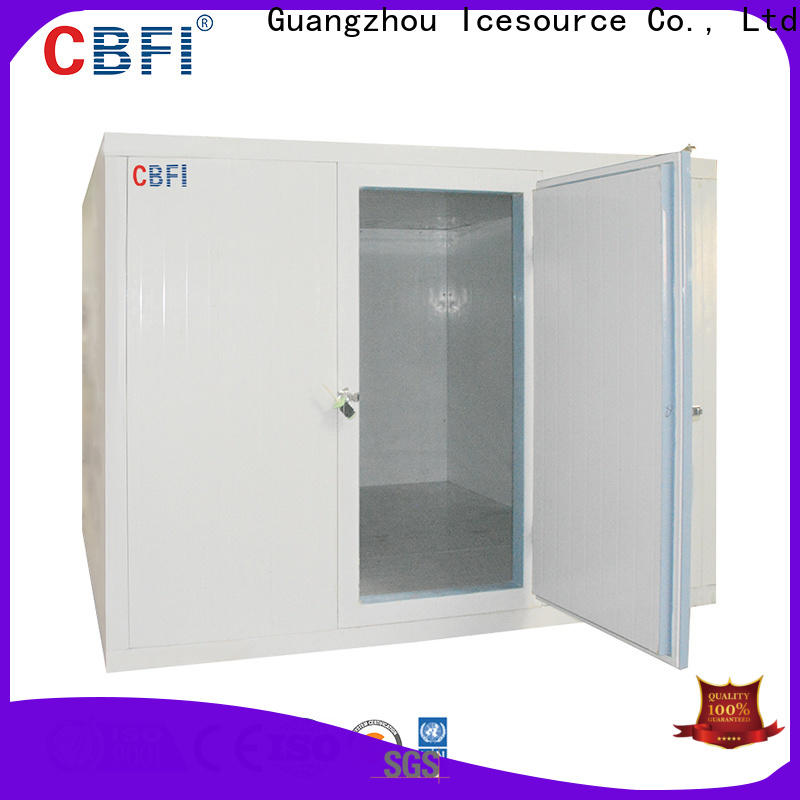 CBFI mobile cold storage order now for freezing