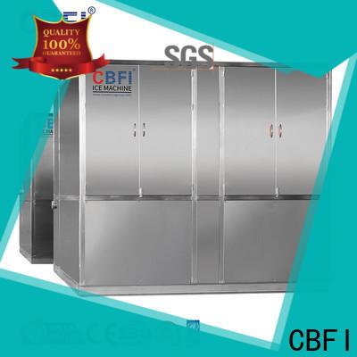 CBFI day restaurant ice machine plant for freezing