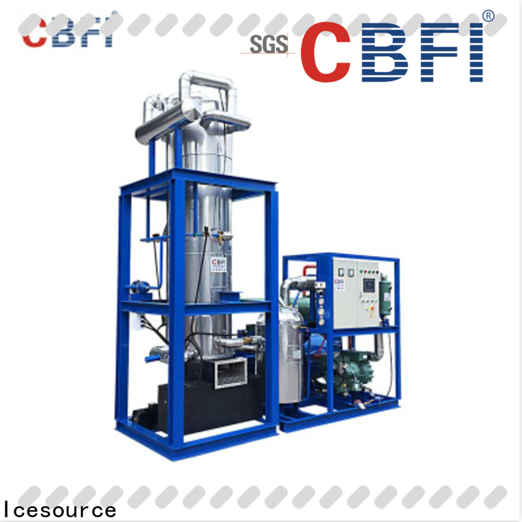 CBFI tube ice machine for sale long-term-use for cold drink