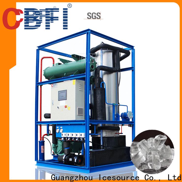 CBFI high-end ice tube maker machine order now for freezingg