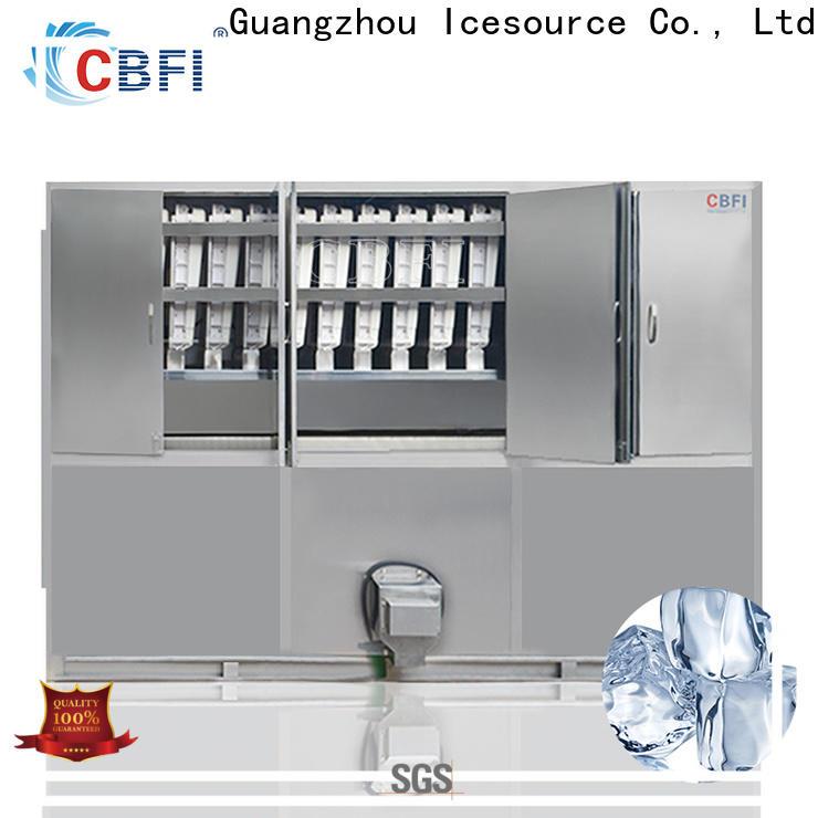 CBFI clear ice cube maker bulk production order now