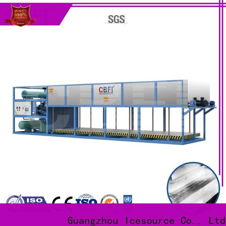 CBFI ice block maker machine plant for high-end wine